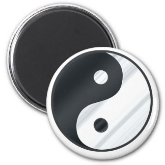 Yin Yang Metal Magnet
