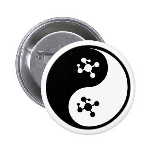 Yin Yang Molecular Biology Button