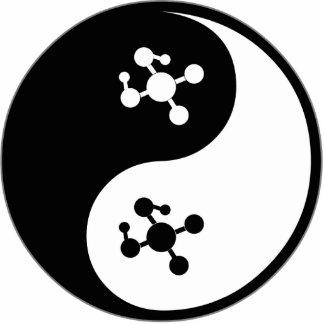 Yin Yang Molecular Biology Photo Cut Outs