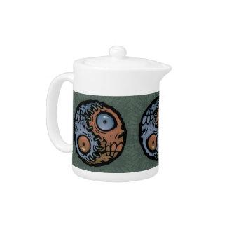 Yin Yang Monsters 2 Teapot
