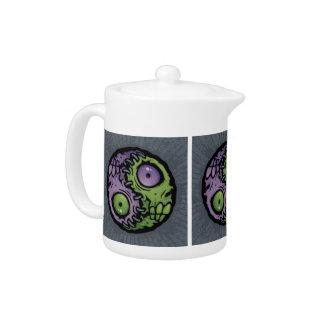 Yin Yang Monsters Teapot