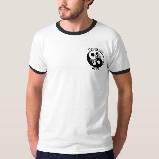 Yin Yang Mountain biker T Shirt