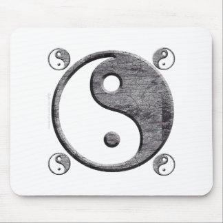 Yin Yang Mousepad Tapetes De Ratón
