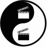 Yin Yang Movies Photo Cut Out