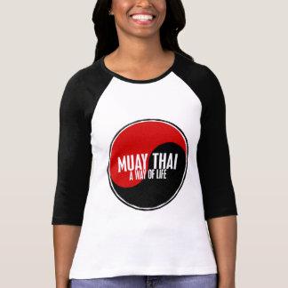 Yin Yang Muay 1 tailandés Camisas