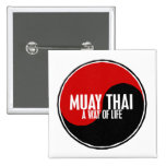 Yin Yang Muay 1 tailandés Pins