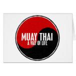 Yin Yang Muay 1 tailandés Tarjetón
