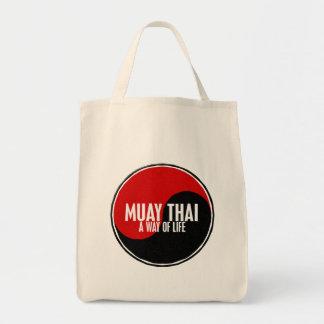 Yin Yang Muay Thai 1 Canvas Bags