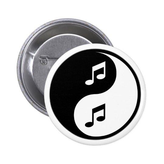Yin Yang Music Button