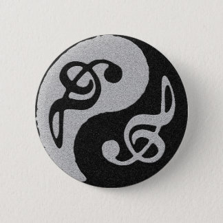 yin yang music clave note button