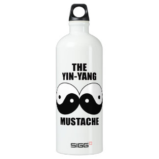 Yin-Yang Mustache SIGG Traveler 1.0L Water Bottle