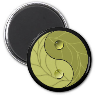 Yin Yang Nature 2 Inch Round Magnet