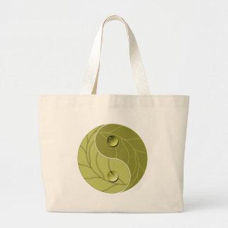 Yin Yang Nature Canvas Bags