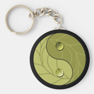 Yin Yang Nature Keychain
