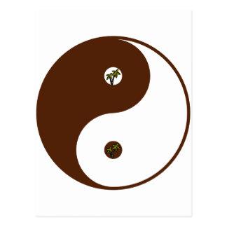 Yin Yang Nature Postcard