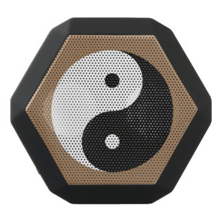 Yin Yang - negro y blanco Altavoces Bluetooth Negros Boombot REX