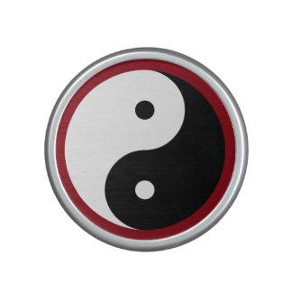 Yin Yang - negro y blanco Altavoz Bluetooth