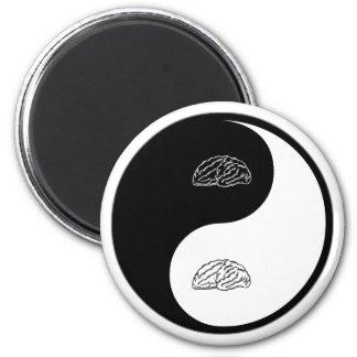 Yin Yang Neurology Magnet