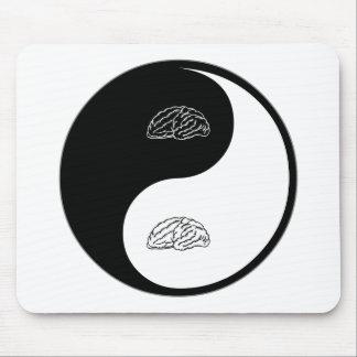 Yin Yang Neurology Mouse Pads