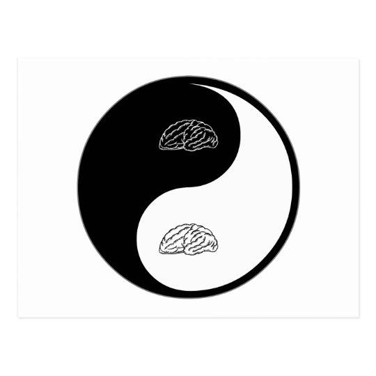 Yin Yang Neurology Postcard