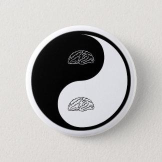 Yin Yang Neuroscience Pinback Button