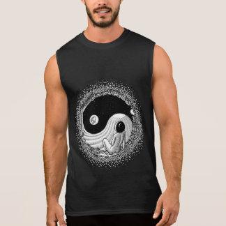 Yin Yang Night Sleeveless Shirt