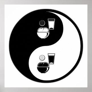 Yin Yang Nutrition Poster
