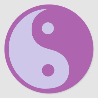 Yin & Yang of Chronic Pain Classic Round Sticker
