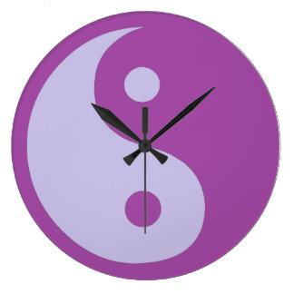 Yin Yang of Chronic Pain Wall Clock