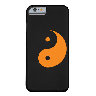 Yin Yang - orange 2 Barely There iPhone 6 Case