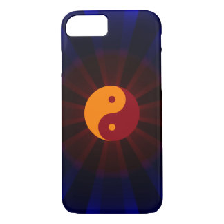 Yin Yang - orange red - Patt iPhone 7 Case