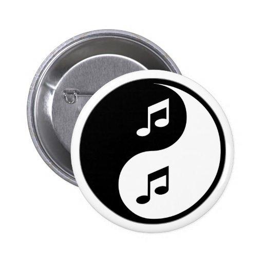 Yin Yang Orchestra Pinback Button