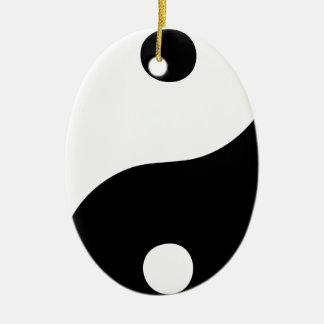 Yin Yang Christmas Tree Ornament