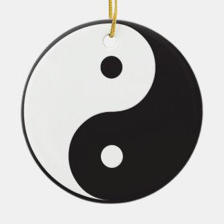 Yin Yang Christmas Ornaments