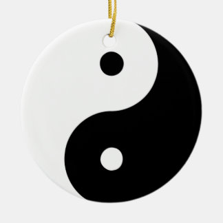 Yin Yang Ornament (double sided)