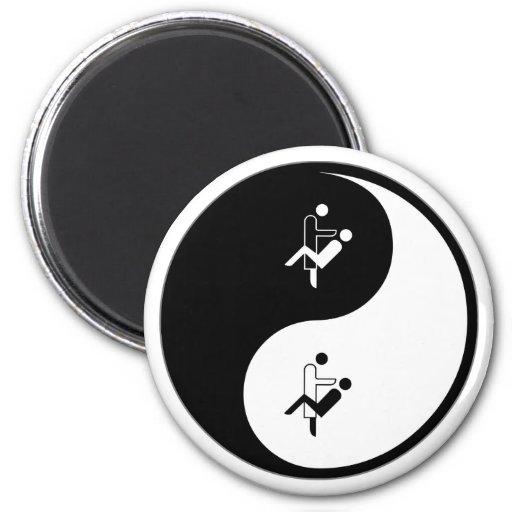 Yin Yang Orthodontics Refrigerator Magnets