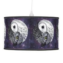 Yin Yang Owls Ceiling Lamp