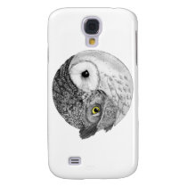 Yin Yang Owls Galaxy S4 Cover