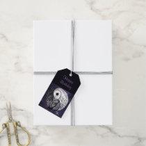 Yin Yang Owls Gift Tags