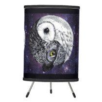 Yin Yang Owls Tripod Lamp