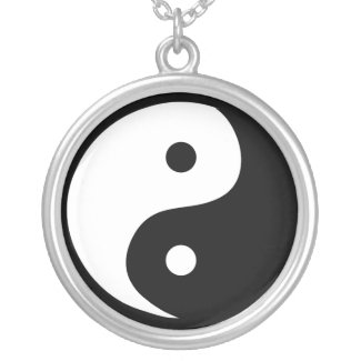 Yin Yang Pendant Necklace necklace