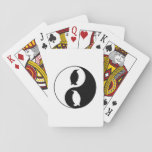Yin Yang Penguin Playing Cards
