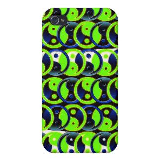 Yin Yang pern iPhone 4/4S Carcasas