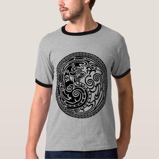 Yin yang phoenix t shirt zazzle for Phoenix t shirt printing