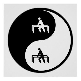 Yin Yang Physical Therapy Posters