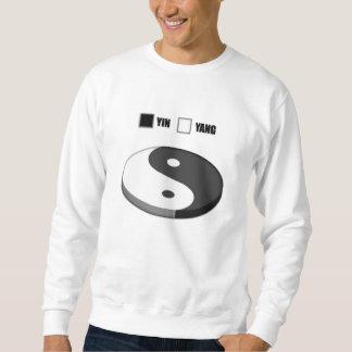 Yin Yang Pie Chart Sweatshirt