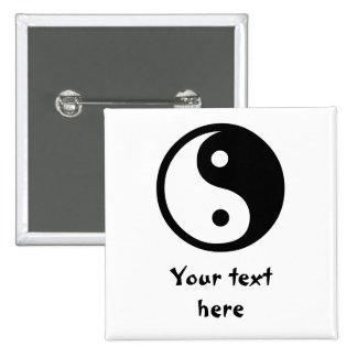 Yin Yang Pin Cuadrado