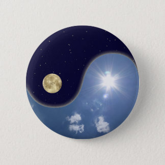 yin yang pinback button