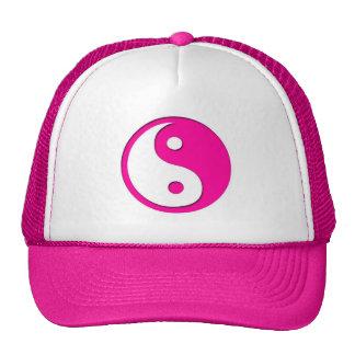 Yin-Yang-Pink-White Hats