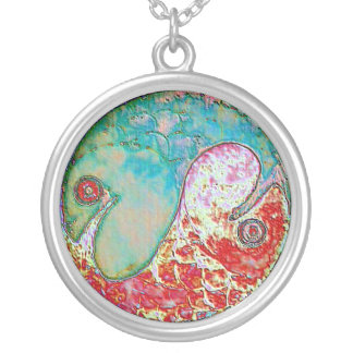 Yin-Yang Pisces Pendant Necklace 2